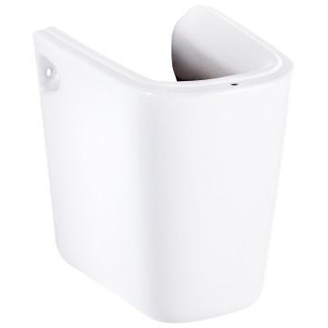 Cobra - Arrive - Basin - Semi Pedestal - White