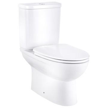 Cobra - Shelter - Toilet - Close Couple - White