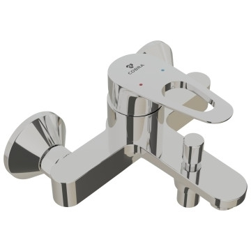 Cobra - Den - Tap & Mixer Single Lever - Bath Mixer - Chrome