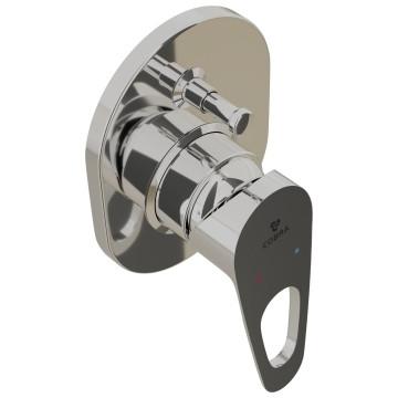 Cobra - Den - Tap & Mixer Single Lever - Bath/Shower Mixer - Chrome