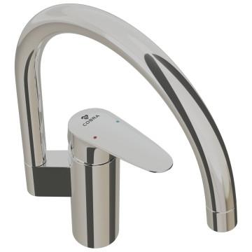 Cobra -  - Recess - Tap & Mixer Single Lever - Sink Mixer - Chrome